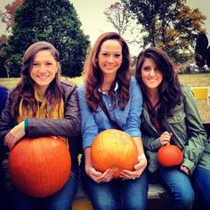 Visit a pumpkin patch for a sisterhood event in the fall.  Once everyone picks out their pumpkin, decorate them back at the house or chapter room.