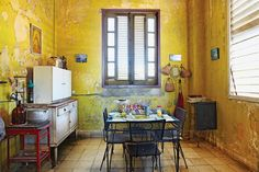 Introducing New Worlds With A Shrug: Insides: Cuban Kitchens
