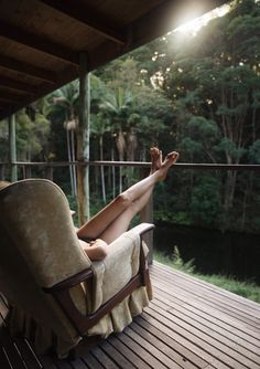 Log Cabin in the Byron Hinterland.. Easy like a Sunday Morning with Gabi Mulder | Handsome Citizens
