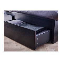 MALM Cadre de lit, haut, 2 rangements - 180x200 cm, - - IKEA