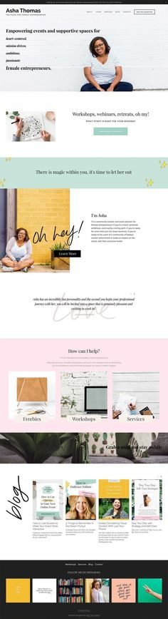 Lacy Squarespace Template by Big Cat Creative - Easy to use Squarespace Template Kits - Squarespace Template Website Design Inspiration, Website Design Layout, Blog Layout, Blog Design, Layout Inspiration, Print Design, Design Ideas, Graphic Design, Minimal Web Design