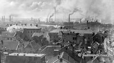 The Krupp works in Essen, 1890 Old Pictures, Old Photos, Paisley Scotland, Historia Universal, Old Photographs, People Photography, Eastern Europe, Historical Photos, Dark Art