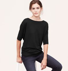 Dolman Sleeve tee from the LOFT in any color