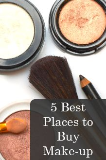 5 Best Places to Buy Make-up https://Beauty.com Is also a great place to buy make up online. There are a few things you need to know about it though. It is a less expensive route when it comes to ordering make-up. The shipping is sloooow. So, if you have an event, or desperately need a product, I would look elsewhere. Other than that, it is a good option for lower prices than you will find at other department stores, such as Nordstrom, Macys and even Sephora.