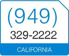 Buy (949) 329 2222 Vanity Number California Area Code 949 Local Vanity  Telephone