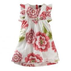 Tea Collection's Sethunya Floral Dress - Fun With Four