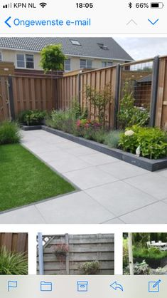 House - Small Home Exterior Back Gardens, Small Gardens, Scandinavian Garden, Garden Bed Layout, Small House Exteriors, Small Garden Design, Garden Structures, Outdoor Landscaping, Raised Garden Beds