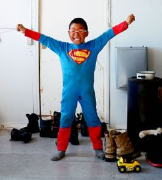 superman of the North, boy in Greenland, photo by Tiina Itkonen