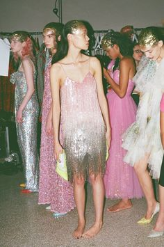 Ashish Fashion in Motion V and A Backstage 17