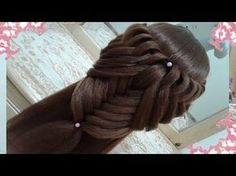 peinados recogidos faciles para cabello largo bonitos y rapidos con trenzas para niña para fiestas54 - YouTube