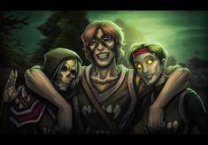 Undead frens by geedert on DeviantArt World Of Wacraft, World Of Warcraft Characters, Warcraft Art, Hero Factory, Game Concept, Kawaii Art, Nerd Stuff, Troll, Video Games