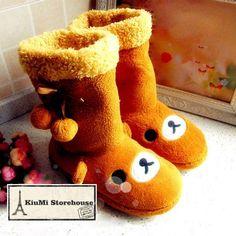 Rilakkuma slippers!!♥♥♥ i need these asap Cussssss I dooo...like..nao.