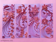 Easy Paper Quilling   artXplorez