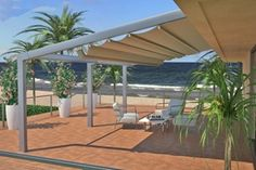 Siracusa retractable patio cover  retractableawnings.com
