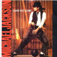 """For Sale - Michael Jackson Leave Me Alone UK  7"""" vinyl single (7 inch record) - See this and 250,000 other rare & vintage vinyl records, singles, LPs & CDs at http://eil.com"""