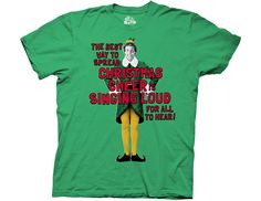 Ripple Junction Elf Best way to spread holiday cheer Adult T-Shirt