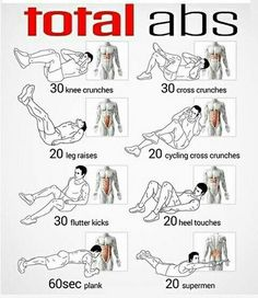 Ab Workout For Busy Mornings Total abs workout at home.Total abs workout at home. Fitness Workouts, At Home Workouts, Fitness Motivation, Fitness Abs, Fitness Quotes, Core Workouts, Killer Ab Workouts, Fitness Foods, Great Ab Workouts
