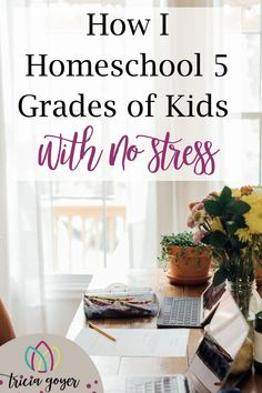 People are amazed that I homeschool with no stress (or very little) with FIVE grades all at once without losing my mind. I'm actually amazed too. When I first began so many years ago, I could not have imagined that I could have a large family AND teach homeschool with no stress. Multiple grades were intimidating, that's for sure! Tricia Goyer shares her secrets on the blog! Homeschool Curriculum, Homeschooling Resources, Alternative Education, How To Start Homeschooling, Multiplication For Kids, Teacher Hacks, Public School, School Days, Kids Learning