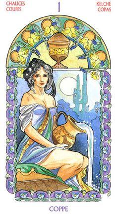 Antonella Castelli - Tarot Art Nouveau