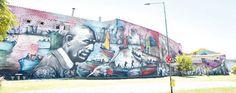 "by Alfredo ""El Pelado"" Segatori - Street Art in Buenos Aires - Argentina (2.000 m2)"