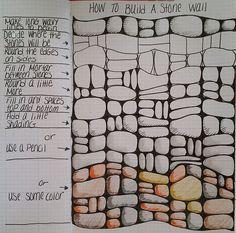 Comment construire un mur de Pierre de Linda Rea. 2667