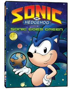Sonic the Hedgehog: Sonic Goes Green @ niftywarehouse.com #NiftyWarehouse #Sonic #SonicTheHedgehog #Sega #VideoGames #Gaming