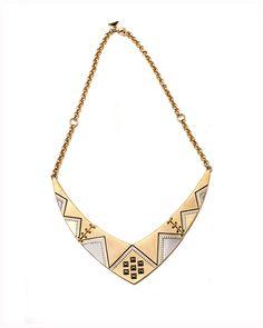 White Izali Necklace