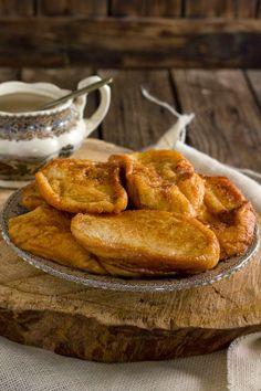 Yerbabuena en la cocina: Torrijas de azúcar y canela.... las de toda la vida