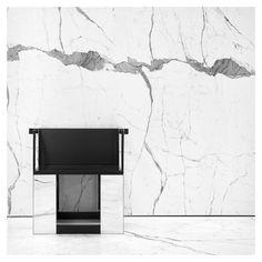 Hedi Slimane - Saint Laurent, 38 Faubourg store [Paris, 2015]