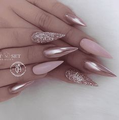 Best Ideas for blush pink nails acrylic stiletto Pink Nail Designs, Beautiful Nail Designs, Acrylic Nail Designs, Nails Design, Burgundy Nail Designs, Blush Pink Nails, Pink Stiletto Nails, Pointy Nails, Matte Pink