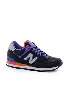 color block- New Balance 574 Windbreaker Trainers