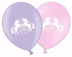Happy-Birthday-12-034-Unicorns-Latex-Party-Decor-Balloons-Matching-Ribbon
