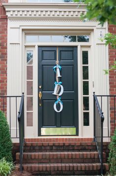 DIY I Do bridal shower decoration or on your front door at home right around the weeding