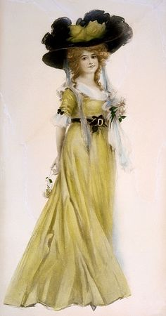 "A Late Victorian Beauty  in ""fancy dress""-                                     Wendy Schultz - Printables."
