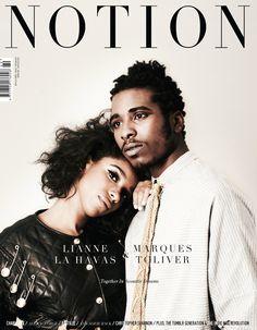Notion 060 - Cover 1: Lianne la Havas & Marques Toliver