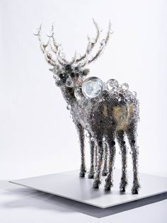Kohei Nawa, PixCell-Double_Deer#6, 2012, mixed media, 229.7x190x160cm