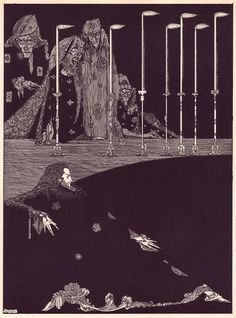 1 | The Beautiful Illustrations That Made Poe's Stories Terrifying In 1919 | Co.Design: business + innovation + design