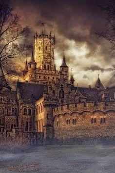 Slottet Marienburg i Tyskland.
