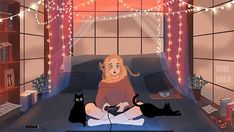 Have a relaxing weekend, gif Cool Animated Gifs, Cool Animations, Aesthetic Drawing, Aesthetic Gif, Orange Aesthetic, Pix Art, Aesthetic Photography Nature, Cute Anime Pics, Scenery Wallpaper