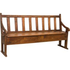 Lovely 18th C. antique french bench which still carries the tag from the stop in…