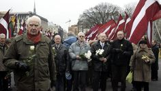 Latvians march to honor World War II allies who fought in Nazi units - http://www.warhistoryonline.com/war-articles/latvians-march-honor-world-war-ii-allies-fought-nazi-units.html