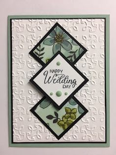 Wedding Cards Handmade, Get Well Cards, Paper Cards, Cool Cards, Kids Cards, Flower Cards, Anniversary Cards, Homemade Cards, Stampin Up Cards