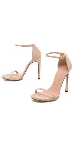 Stuart Weitzman Nudist 110mm Sandals | SHOPBOP SAVE UP TO 25% Use Code: BIGEVENT16