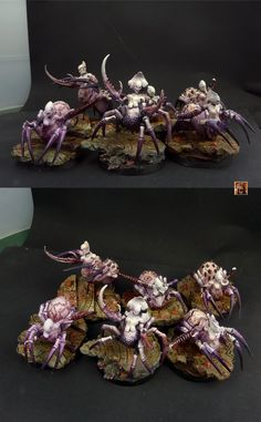 Slaanesh Beasts    what a truly creepy vision.