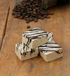 Homemade coffee marshmallows infused with espresso powder that are fluffy, bouncy, and super soft.