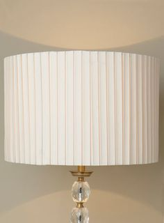 Box Pleat Shade - shades - shades & bases - Home, Lighting & Furniture
