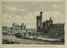 El Louvre desde la Porte de Nesle Paris Vintage, Old Paris, Paris Map, Paris France, Paris Drawing, Palais Des Tuileries, Louvre Paris, Paris Painting, Places Of Interest