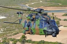 Australian NH90 TTH helicopter. Photo NH Industries.