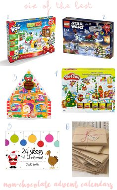 Here are my top 6 non-chocolate advent calendars that will go down a storm with your little ones.