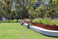 CLEC Site, Docklands Park- Stage 2 by MALA Studio « Landscape Architecture Works | Landezine #LandscapePark